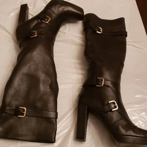 Stuart weitzman moto buckle boots 8.5 or 8